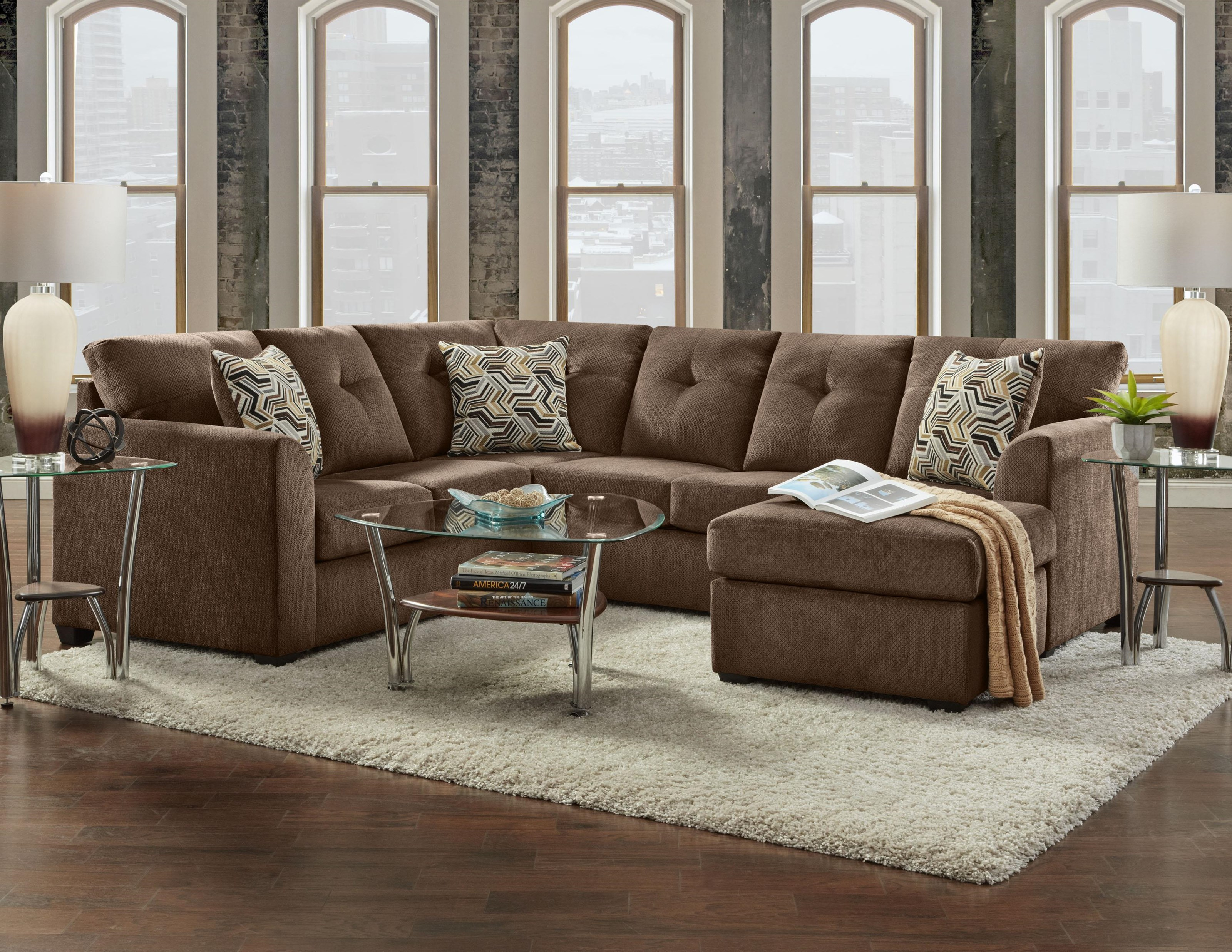 3900 2 Piece Sectional by Washington Furniture at VanDrie Home Furnishings
