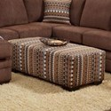Washington 4160 Ottoman - Item Number: 4165-436-Dabomb Java