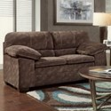 Washington 4650 Love Seat - Item Number: 4652-103-Cody Chocolate
