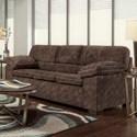 Washington Furniture 4650 Sofa - Item Number: 4653-103-Cody Chocolate