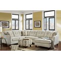 Washington Furniture Aussie 5 Seat Sectional - Item Number: 4740-Sect