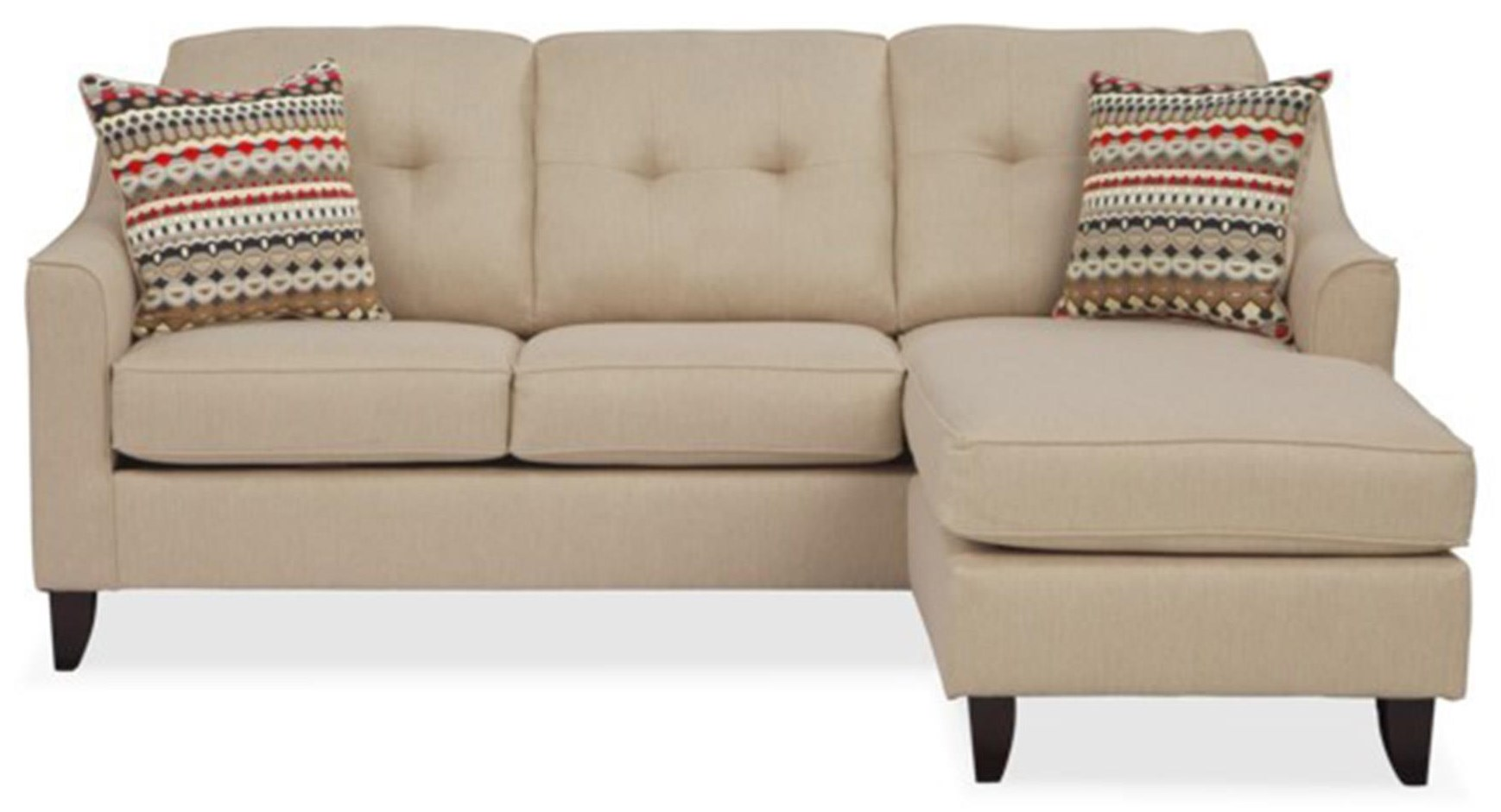 Washington Furniture Stoked Stoked Sofa Chaise - Item Number: 4743STOKED-CREAM