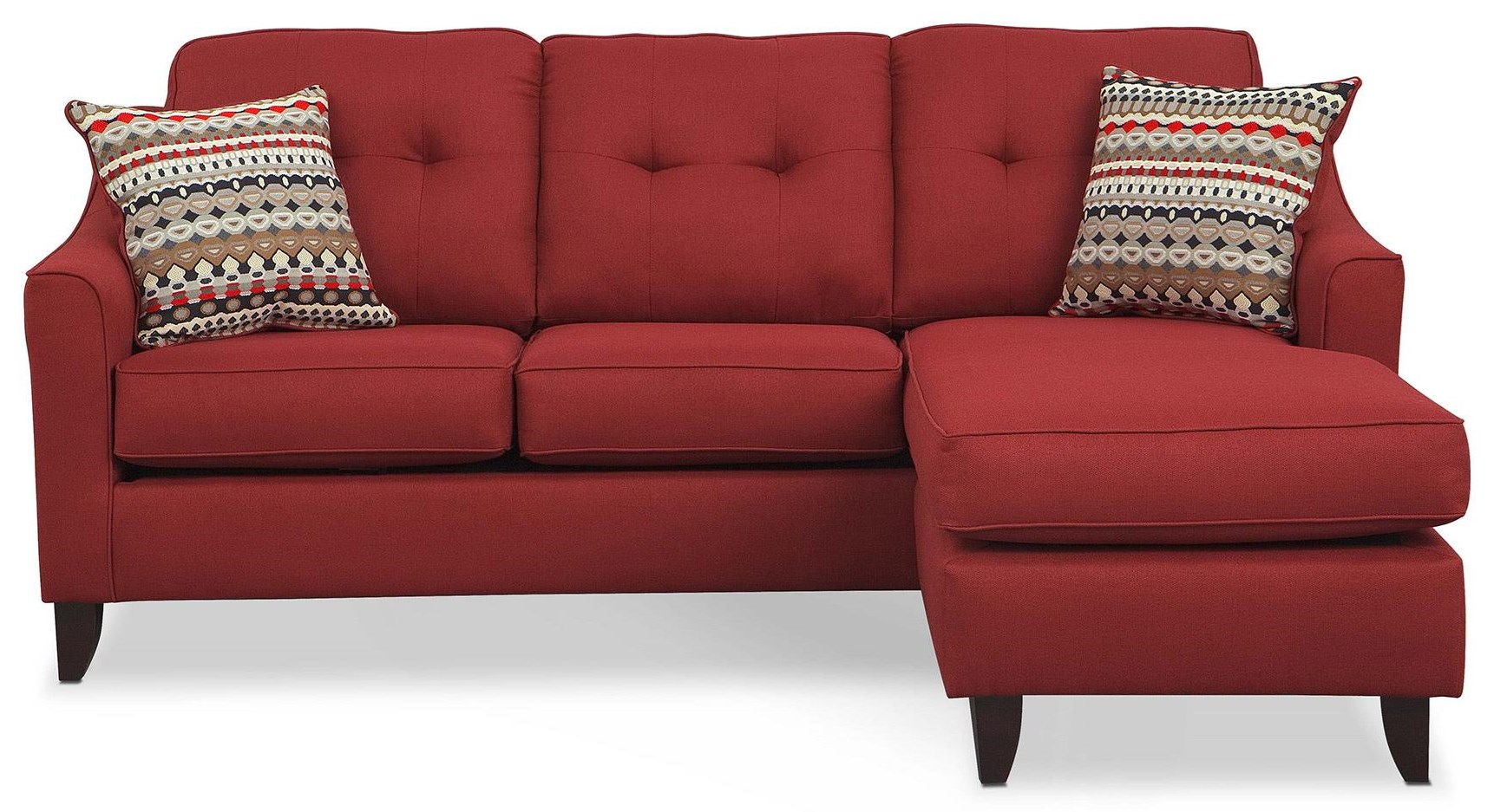 Washington Furniture Stoked Stoked Sofa Chaise - Item Number: 4743STOKED-RED
