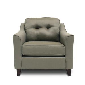 Washington Furniture 4740 Stoked Truffle Chair