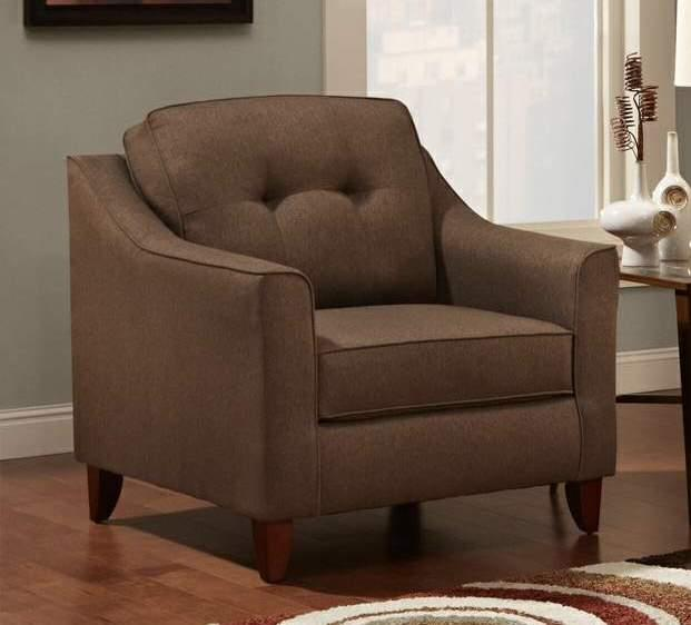 Washington Furniture 4740 Stoked Chocolate Chair - Item Number: WASH-4741-586