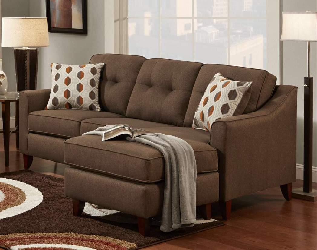 Washington Furniture Stoked Stoked Chocolate Sofa Chaise - Item Number: WASH-4743-586