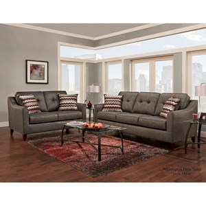 Washington Furniture 4840 Stationary Living Room Group