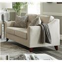 Washington Furniture Oliver Oliver Sand Loveseat - Item Number: 4840-02 1597-01