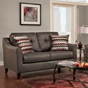 Washington Furniture 4840 Love Seat - Item Number: 4842-331