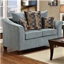 Washington Furniture 5000 Love Seat - Item Number: 5000-LS