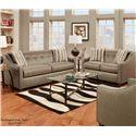 Washington Furniture 5440 Stationary Sofa