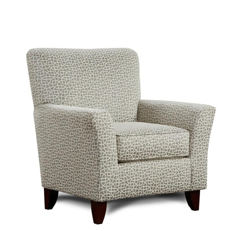 Washington Furniture Lucy Grecian Slate Accent Chair - Item Number: 2200 GRECIAN-SLATE