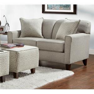 Washington Furniture Lucy Slate Loveseat