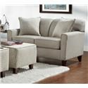 Washington Furniture Lucy Slate Loveseat - Item Number: 5640-L LUCY-SLATE
