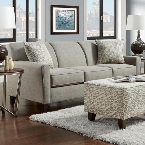 Washington Furniture 5640 Washington Sofa - Item Number: 5643-282-Lucy Slate