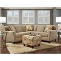 Washington Furniture Lucy Grande Badger - Item Number: 5647+48
