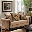 Washington Furniture 6000 Loveseat - Item Number: 6000-L