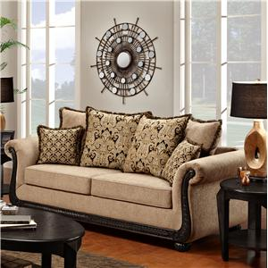 Washington Furniture 6000 Traditional Sofa