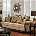 Washington Furniture 6000 Traditional Sofa - Item Number: 6000-S