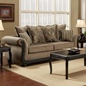 Washington 6000 Traditional Sofa - Item Number: 6003-232