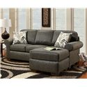 Washington Furniture 6040  Sofa with Chaise - Item Number: 6040S