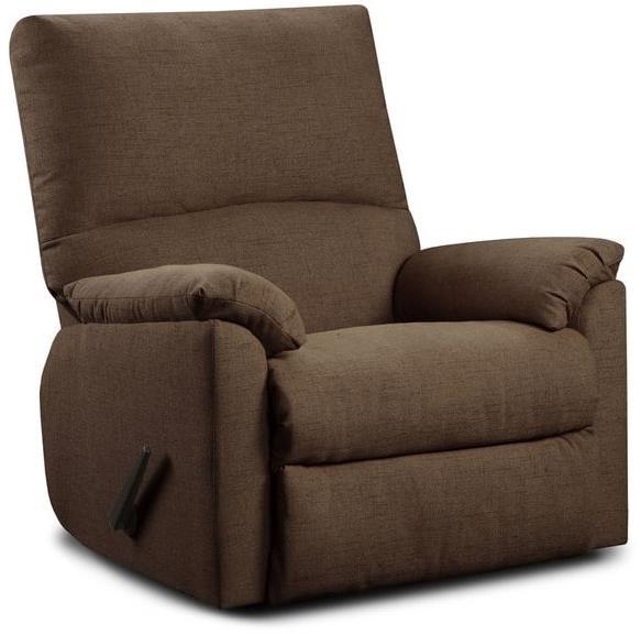 Washington Furniture 7560 Recliner - Item Number: 7560-122-Mitchell Chocolate