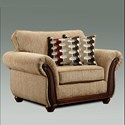 Washington Furniture 8100 Washington Upholstered Chair - Item Number: 8101-440