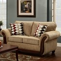 Washington Furniture 8100 Washington Love Seat - Item Number: 8102-440