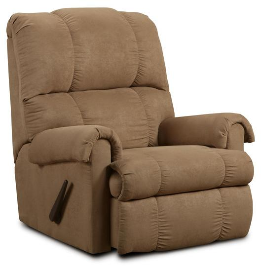 Washington Furniture Victory Victory Taupe Rocker Recliner - Item Number: 8700-394