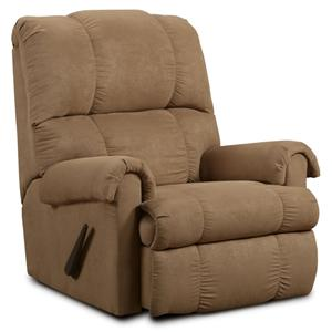 Washington Furniture Victory Victory Taupe Rocker Recliner