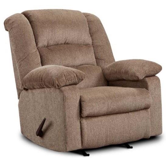 Washington Furniture 8810 Recliner - Item Number: 8810-498-Jesse Cocoa