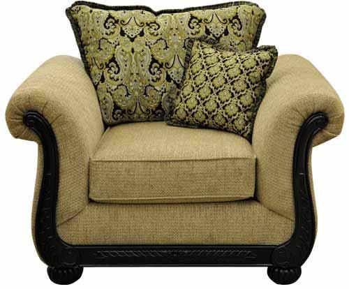 Washington Furniture 6000 Chair - Item Number: 6001-230BLK