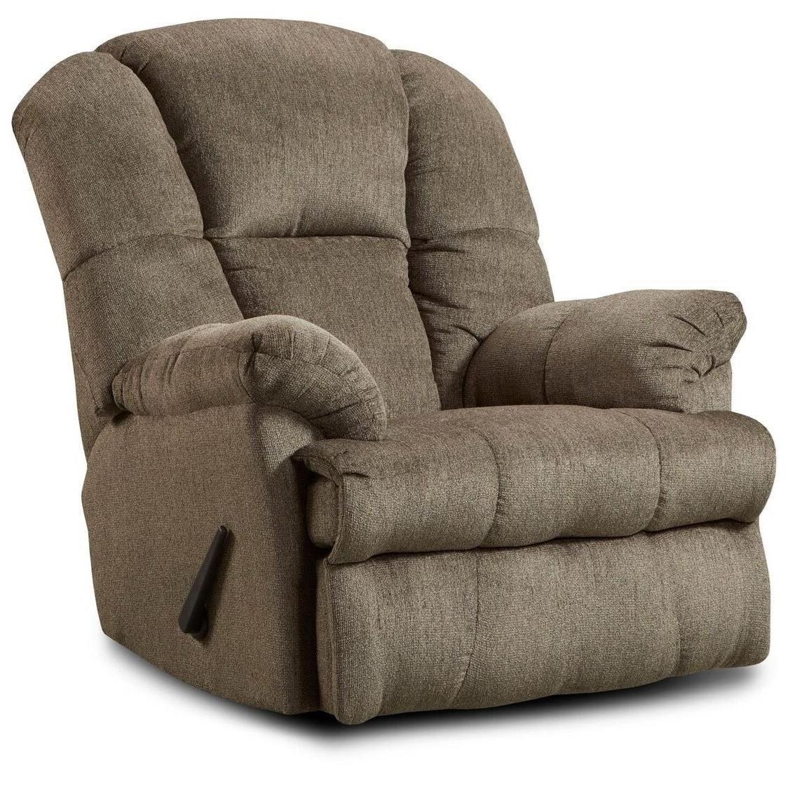 Washington Furniture Ernie Recliner - Item Number: 9745-Hillel Pewter