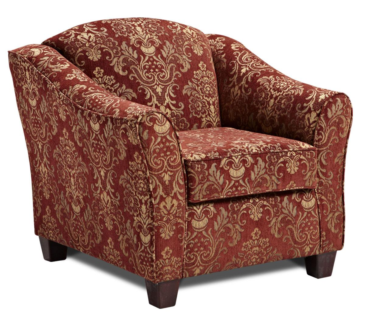 Washington Furniture 9900 Accent Chair With Flair Tapered Arms Del Sol Furniture Upholstered