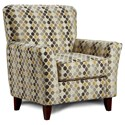 Washington Furniture Accent Chairs by Washington Accent Chair - Item Number: 2200-Melbourne Canary