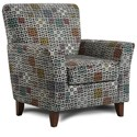 Washington Furniture Accent Chairs by Washington Accent Chair - Item Number: 2200-Veena Multi