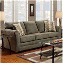 Washington Furniture 3250 Sofa - Item Number: 3250-S Graphite