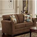 Washington Furniture Council Fudge Loveseat - Item Number: 3252-420