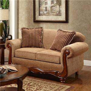 Washington Furniture Key West Umber Loveseat