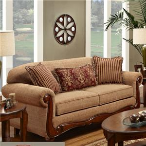 Washington Furniture Key West Umber Sofa