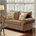 Washington Furniture Maya Bark Loveseat - Item Number: 1122-140