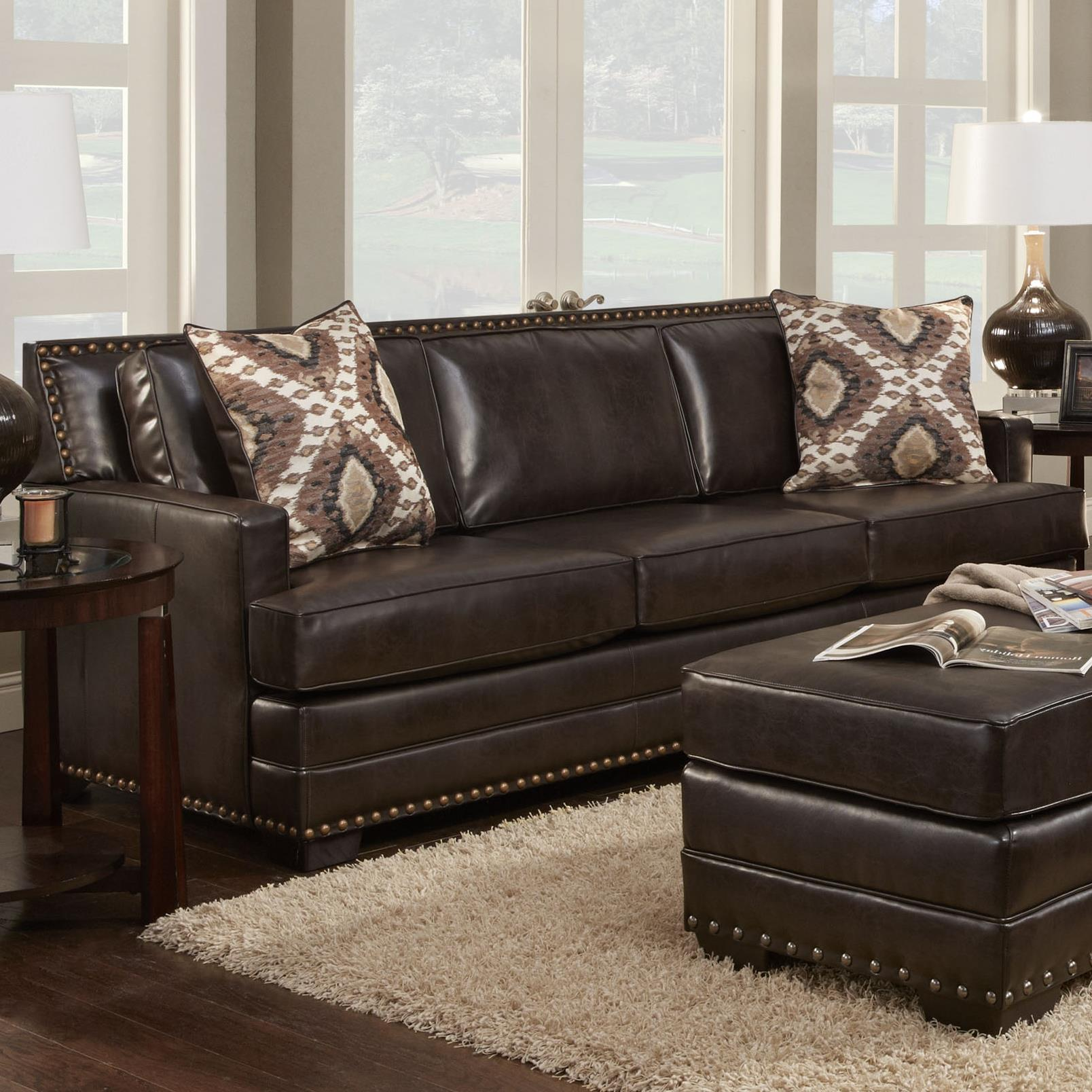 Washington Furniture 1720 1723 692 Transitional Sofa Household Furniture Sofa