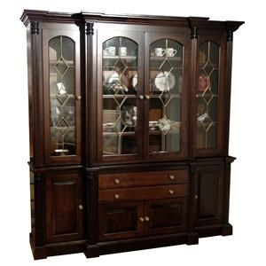 Wayside Custom Furniture Amish Clearance 2pc China Cabinet
