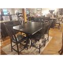 Wayside Custom Furniture Amish Clearance Table & 6 Stools - Item Number: KATELYN