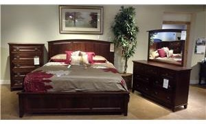 Wayside Custom Furniture One Only Brooklyn Heights 4pc Bedroom Group