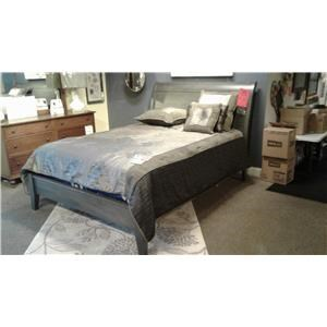 Wayside Custom Furniture ONE ONLY SPECIAL Queen Sleigh Bed (While only 2 last)