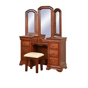 Wayside Custom Furniture Chateau Vanity & Mirror