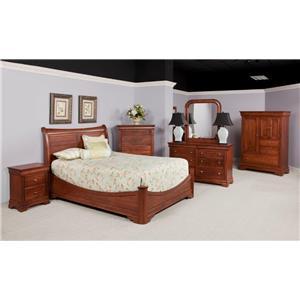 Wayside Custom Furniture Chateau Bedroom Group 1