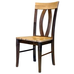 Wayside Custom Furniture Amish Dining Chairs Brookfield Dining Chair