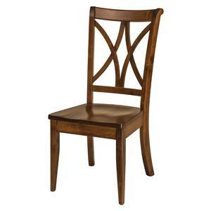 Wayside Custom Furniture Amish Dining Chairs Callahan Dining Chair